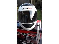 LS2 FULL FACE MOTORCYLCE HELMET