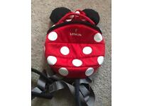 Minnie Mouse back pack reins little life