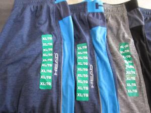 """Shorts, """"Head"""" Dri-Motion Sport, .XL , BNWT -- $9.00 ea."""