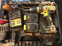 Dewalt 18v drill set! Nearly brand new