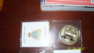 Canadian Navy  Ship Coins