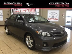 2013 Toyota Corolla S-Automatic Transmission! Ext Comprehensive