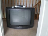 Samsung TV and Daewoo freeview box