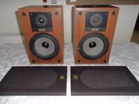 Pair of Celestion Ditton 100 Bookshelf Speakers - Work Perfectly and Sound Great