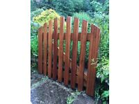 Garden Gate Solid hardwood