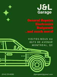 J&L Garage: Your car mechanic of choice in Montreal!