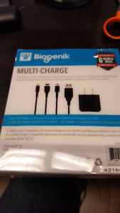 DS - Biogenik Universal AC Charger for Nintendo DS. All Versions