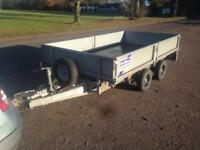 Ifor Williams trailer 10 X6 double drop side excellent condition