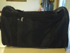 NEW PRICE-20.00-black soft sided pet carrier