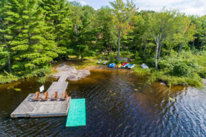 Private 3 Bedroom Cole Lake Cottage