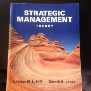 Strategic Management Theory (10th Ed) Charles W. L. Hill, Jones