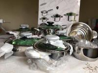 Professional saucepan set 12 piece - unused and still in its box