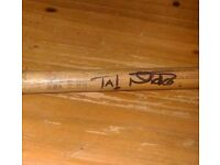 IRON MAIDEN SIGNED DRUM STICK