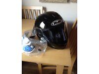 HJC motor bike helmet