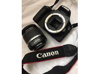 Canon SLR 550d digital camera