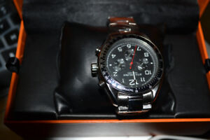brand new silver stuhrling watch for men