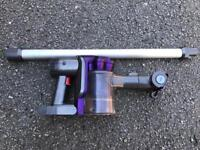 Used Dyson dc31 Handheld with wand and brush No charger