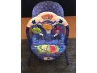 Excellent condition baby bouncer rocker soother vibration