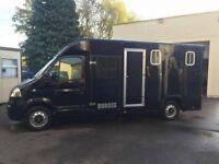 Vauxhall Movano 3.5 Ton Horsebox