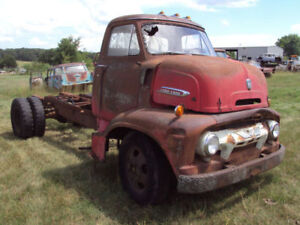 WANTED 1950`S FORD COE COMPLETE CAB