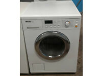 Y235 white miele 5kg 1600spin washer dryer comes with warranty can be delivered or collected