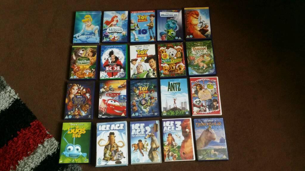20 X Disney Dvds all brand new !