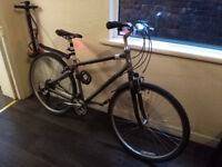 Bicycle GIANT 24in good condition, 21 Speed, City hybrid, Mud Guards, Lights, Combination Lock, Bell
