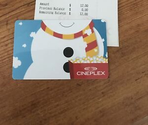 Cineplex cards