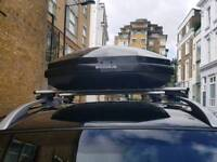 Roof bars and box