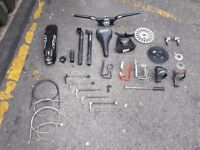 Job lot of various bike parts, FREE DELIVERY