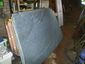 2 x foam beds from conway trailer tent approx 6ft x 4ft good condition