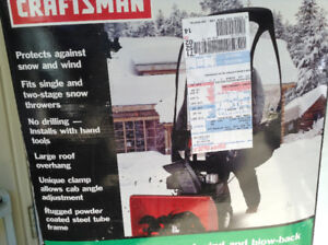 Craftsman snowblower cab