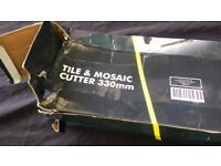 TILE CUTTER TILE AND MOSAIC CUTTER 330MM AS NEW AVAILABLE FOR SALE