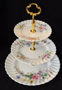 ARCADIA - ROYAL DOULTON 3 TIER CAKE STAND