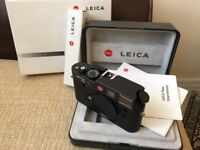 Leica M6 TTL (UNUSED) Extremely rare!