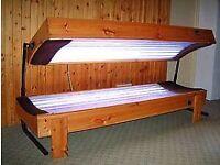 Sunbed solarium
