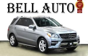 2012 Mercedes-Benz M-Class ML 350 BLUETEC NAVIGATION LEATHER PAN