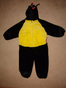 Kids Plush Ladybug Costume - size M (approx. 4 to 6 yr old)