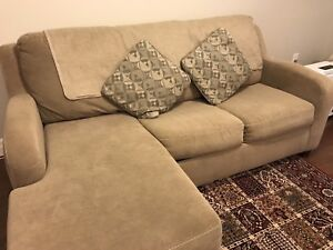 Three seater couches with queen size bed (never used)