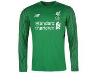 Liverpool Home GoalKeeper Shirt Mens 2017/2018 Mens Large #1 Karius BRAND NEW never worn