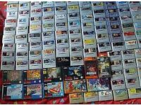 WANTED: SUPER NINTENDO GAMES (snes)