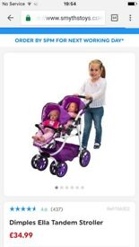 Silver cross and mamas and papas dolls pushchairs for sale