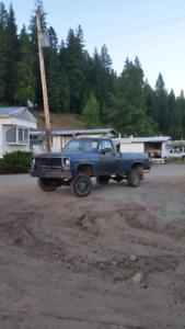 1975 chevy pickup 3/4 ton $2000 OBO