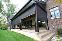 Insect screen for porch patio 226-783-4016 Sunroom construction