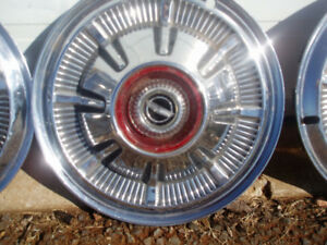 Wheel disc for 1966 Ford Set of 5  Hubcaps or covers