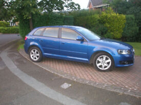 AUDI A3 2.0TDI 5DR STUNNIG CAR FSH £30 TAX LOOKS & DRIVES AS NEW NICE SPEC AA INSPECTION WELCOME
