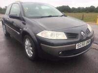 BARGAIN! Trade in to clear, Renault megane diesel, full years MOT awaiting preparation