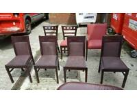 7 x ex Costa Coffee shop chairs