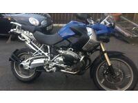 Bmw r1200 GS ..px.. Triumph tiger