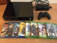 Xbox ONE console plus games bundle - Bargain £139